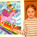 Art Star Creations Children's Art Exhibition. AlenaGovorelenko. 2012