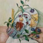 Anastassia Martunova.15 years old. Easter. Watercoolours painting. 2008