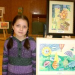 Art Star Creations Children's Art Exhibition. Madina Shaihutsinova. 11 years old. 2012