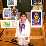 Art Star Creations Children's Art Exhibition. Milana Tcholakova. 2012