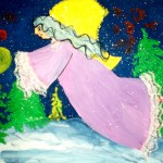 Milana Tcholakova. Fairy. Gouache. 2011