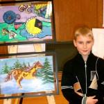 Art Star Creations Children's Art Show. Sergey Khlunovsky. 2012