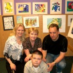 Vladimir Butenko at the Children's Art Show. 14 years old. 2008
