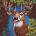 Jenya Yakunina. Deer. Pastel. 2013