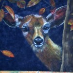 Liza Makarova. Deer. Pastel. 2013