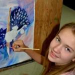 Maria.  Art Classes. 2015