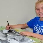 Serega Khlynovsky.  9 years old. 2012