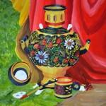 Madina Shaykhytdinova. Teapot. 2012. 12 years  old