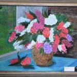 Masha Yarantseva. 10 years old. Oil painting. 2013