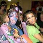 Canadian Body Painting Championship. Model - Khrystal Street, and Hair stylist - Marina Hatata.2008