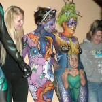 Canadian Body Painting Championship. 2008