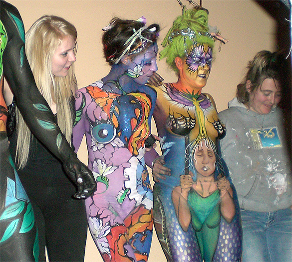 Body Painting Show >> Body Art Body Painting Shows