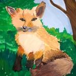 Art Star Creations. Masha Yarantceva. Fox