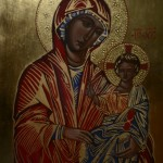 Fine art. Iconography. Egg Tempera by Kateryna Magas. 2015