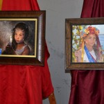 Portraits of Lera Kucherenko and Jenya Yakunina. 2014