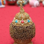 Kateryna Magas. Beaded Russian Easter Egg. 1998