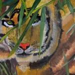 Vita Vysochina. Tiger. 10 years old. 2012