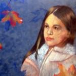 Vita Vysochina. 11 years old. Autumn Leave. Pastel. Feb 2013.