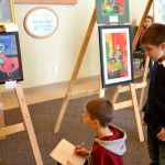 Children's Art show. 2013.