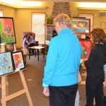 Children's Art Show.  March 2, 2013