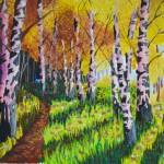 Art Classes in Calgary.  Dasha Soloveva. 2016