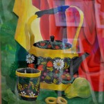 Illya Terekhove. Art Classes. Still Life. Khokhloma Painting. 2013