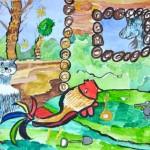 Sayan. Watercolor. 2013