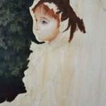 Maria M. OilPainting. Portrait. 2013