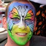 Face-painting